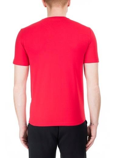 EA7 Emporio Armani  Regular Fit T Shirt Erkek T Shırt S 6Gpt09 Pj20Z 1450 Kırmızı